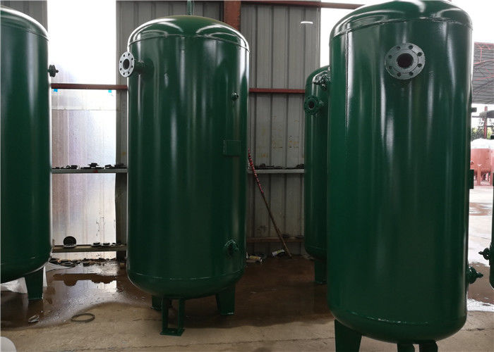 Carbon Steel Extra Vertical Air Receiver Tank For Compressor Systems